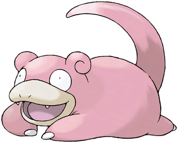 Slowpoke artwork by Ken Sugimori