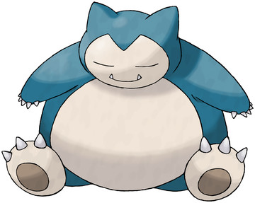 Snorlax artwork by Ken Sugimori