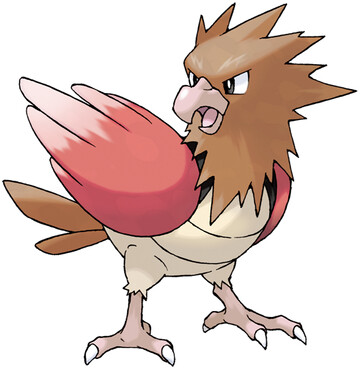 Spearow artwork by Ken Sugimori