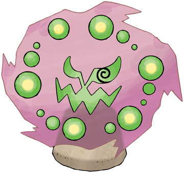 Spiritomb artwork by Ken Sugimori