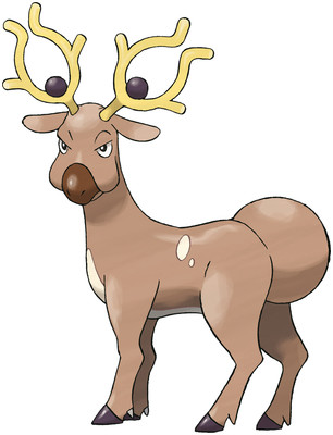 Stantler artwork by Ken Sugimori