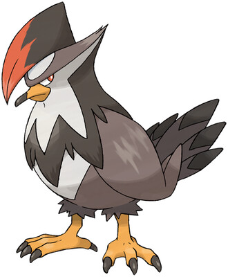 Staraptor artwork by Ken Sugimori