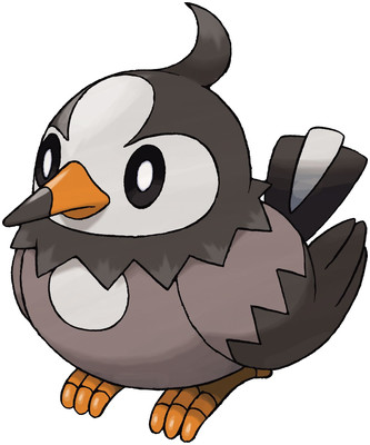 Starly artwork by Ken Sugimori