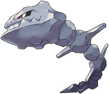 Steelix artwork by Ken Sugimori
