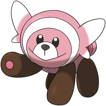 Stufful artwork by Ken Sugimori
