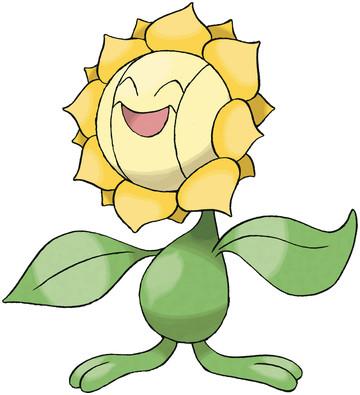 Sunflora artwork by Ken Sugimori