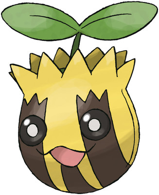 Sunkern artwork by Ken Sugimori
