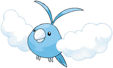 Swablu artwork by Ken Sugimori