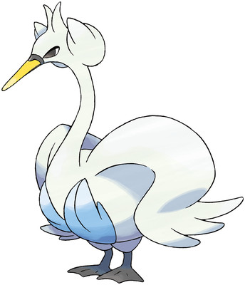 Swanna artwork by Ken Sugimori