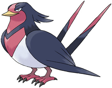 Swellow artwork by Ken Sugimori
