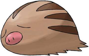 Swinub artwork by Ken Sugimori