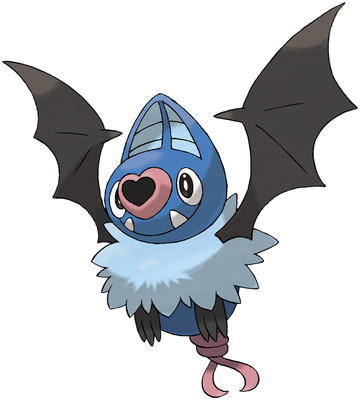 Swoobat artwork by Ken Sugimori