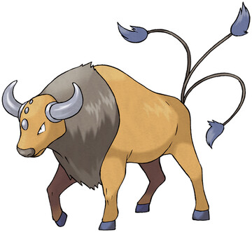 Tauros artwork by Ken Sugimori