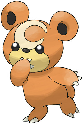 Teddiursa artwork by Ken Sugimori