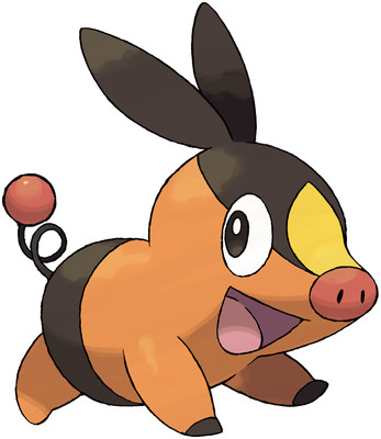 Tepig artwork by Ken Sugimori