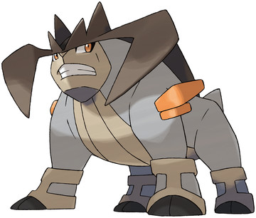 Terrakion artwork by Ken Sugimori