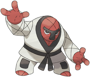 Throh artwork by Ken Sugimori