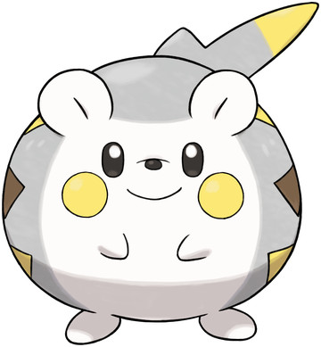 Togedemaru artwork by Ken Sugimori