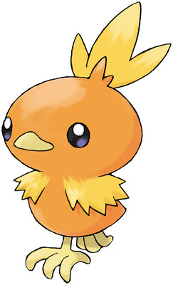 Torchic artwork by Ken Sugimori