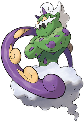 Tornadus (Incarnate Forme) artwork by Ken Sugimori