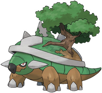 Torterra artwork by Ken Sugimori