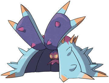 Toxapex artwork by Ken Sugimori