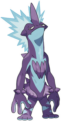 Toxtricity (Low Key Form) artwork by Ken Sugimori