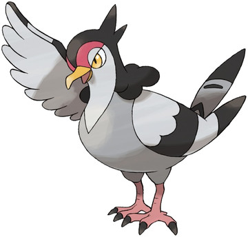 Tranquill artwork by Ken Sugimori