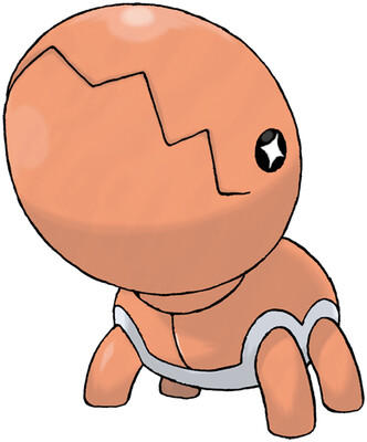Trapinch artwork by Ken Sugimori