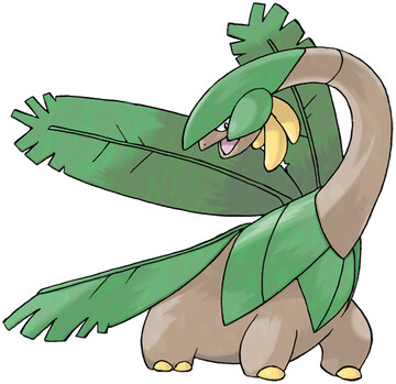 Tropius artwork by Ken Sugimori