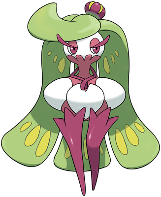 Tsareena artwork by Ken Sugimori