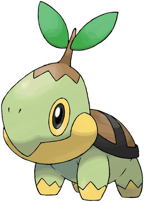 Turtwig artwork by Ken Sugimori