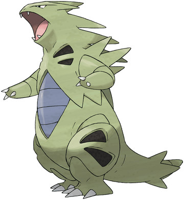 Tyranitar artwork by Ken Sugimori