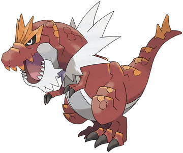 Tyrantrum artwork by Ken Sugimori