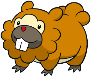 Bidoof Global Link artwork