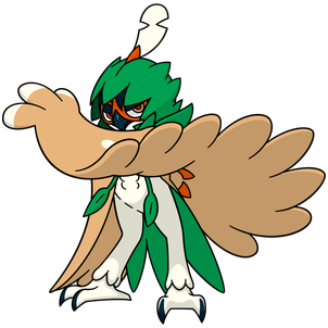 Decidueye Global Link artwork