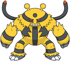 Electivire Global Link artwork