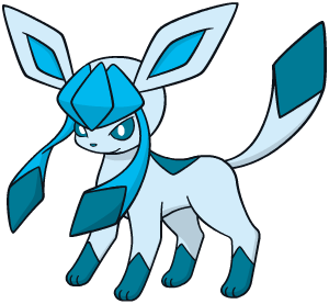 Glaceon Global Link artwork