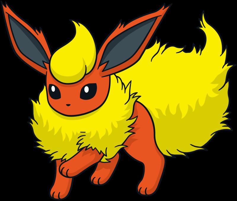 Flareon official artwork gallery   Pokémon Database