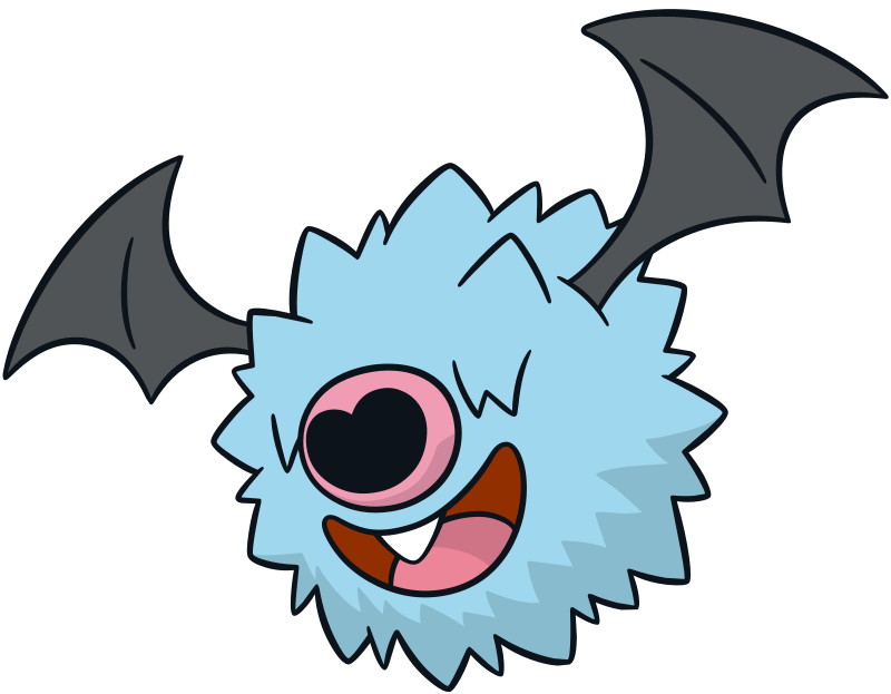 Woobat official artwork gallery | Pokémon Database
