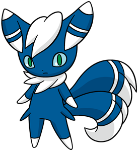 Meowstic (Male) Global Link artwork