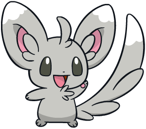 Minccino Global Link artwork