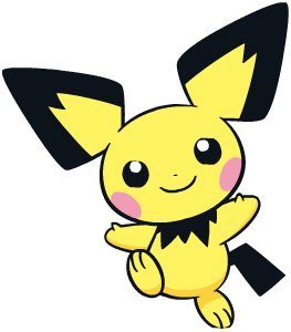 Pichu Global Link artwork