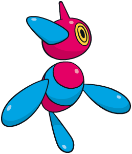 Porygon-Z Global Link artwork