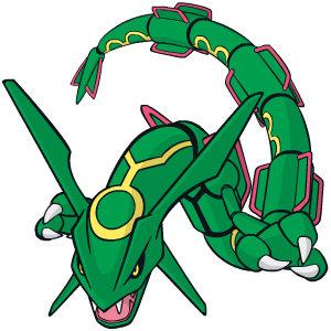 Rayquaza Global Link artwork