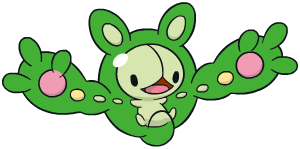 Reuniclus Global Link artwork