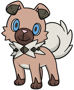 Rockruff Global Link artwork