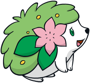 Shaymin (Land Forme) Global Link artwork