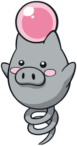 Spoink Global Link artwork