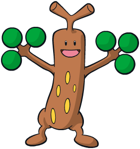 Sudowoodo Global Link artwork